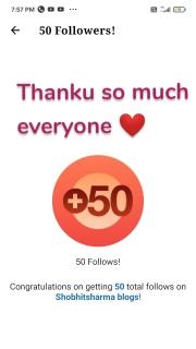 Thanku so much everyone ❤